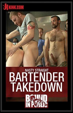 Nasty Straight Bartender Takedown
