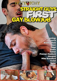 Straight Guys First Gay Blowjob
