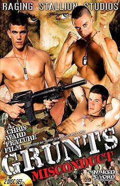 Raging Stallion Grunts Misconduct