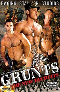 Raging Stallion Grunts The New Recruits